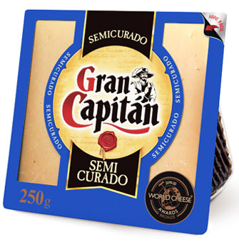Gran Capitán 2 Mois Minimum, Portion 250 g - Fromage Semi